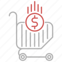 cart, commerce, market, online, shopping icon