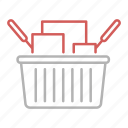 bag, basket, commerce, shopping icon