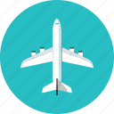 aircraft, airplane, flight, fly, jet, plane, transport, travel icon