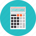 business, calculator, equipment, finance, financial, office, tool icon