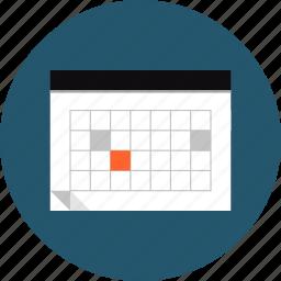 calendar, date, deadline, event, organizer, plan, planning, reminder, schedule icon