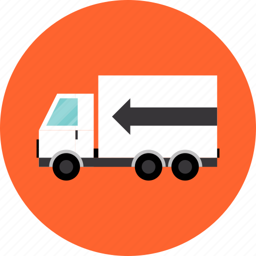delivery, freight, logistics, shipment, shipping, transportation, truck, van icon