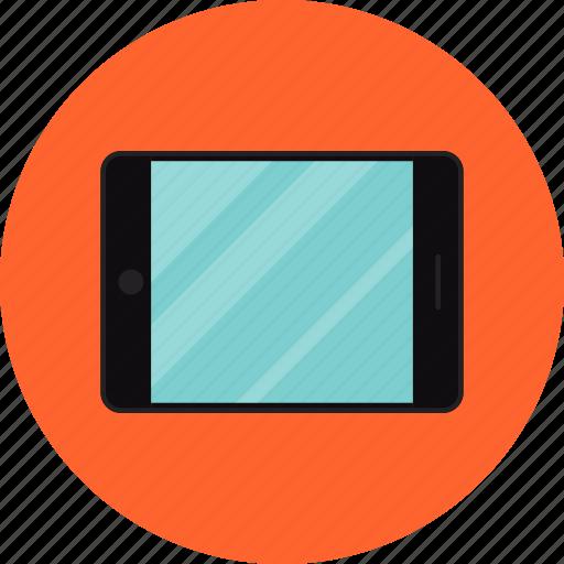 apple, computer, device, digital, display, internet, ipad, tablet, technology icon
