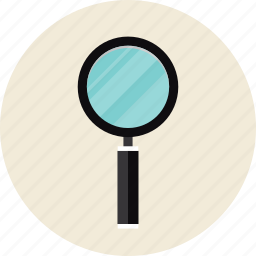 loupe, magnifying, search, seo, tool icon