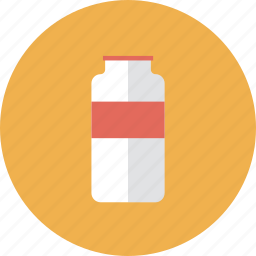 beverage, blank, bottle, commerce, container, drink, food, glass, jar, juice, label, market, merchandise, milk, package, product, retail, shop, shopping, water icon