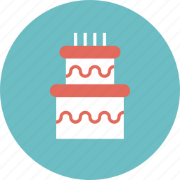 anniversary, bakery, big, birthday, cake, celebration, cooking, culinary, delicious, dessert, food, greeting, happy, party, pie, present, surprise, sweet, wedding icon