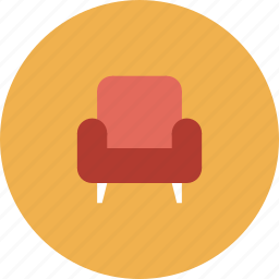 armchair, chair, classic, commerce, couch, design, furniture, home, house, interior, living, lounge, modern, office, red, relax, retail, room, seat, shop, shopping, sit, sofa, soft, store icon