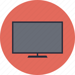 blank, broadcast, digital, display, electronic, electronics, entertainment, film, lcd, led, media, monitor, movie, multimedia, plasma, screen, technology, television, tv, video icon