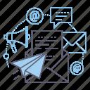 mail, information, news, newsletter icon