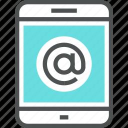 communication, digital tablet, email, internet, mail, mobile, smartphone, web icon