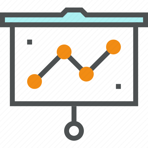 analysis, analytics, chart, graph, presentation, report, statistics icon
