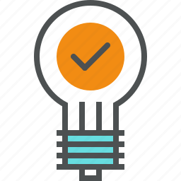 business, idea, inspiration, light bulb, lightbulb, startup, success icon
