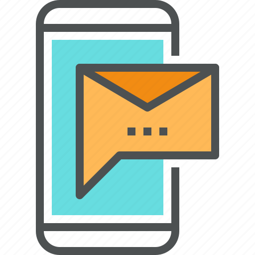 contact, envelope, letter, mail, message, mobile, phone, smartphone icon