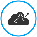 cloud, data transfer, shared services, storage icon