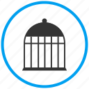 animal, bird, cage, fence, pet, petshop icon