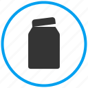 container, jar, medicine jar, pickle bottle, preservation bottle icon