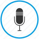 entertainment, mic, microphone, mike, recorder, voice chat, voice search icon