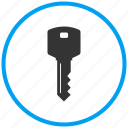 key, password, protected, safety, security, unlock icon