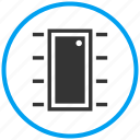 apartment, door, entrance, exit, house, open icon
