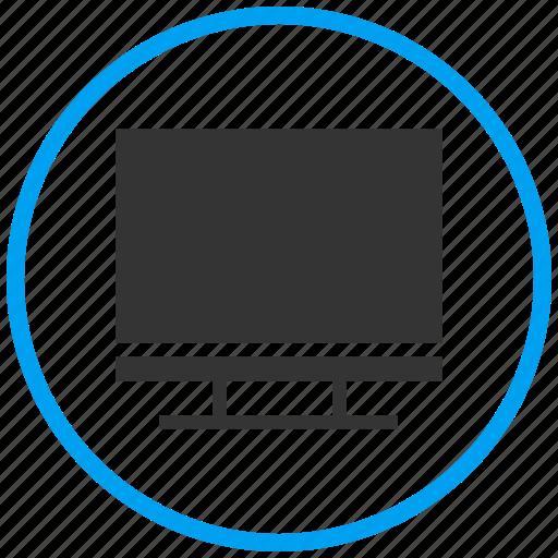 desktop, entertainment, lcd display, monitor, presentation, television icon