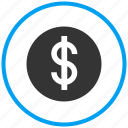 amount, cash, coin, currency, dollar, finance, money icon