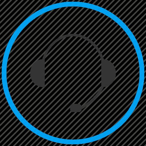 earphones, handsfree, headphone, headset, help support, music, wireless headset icon