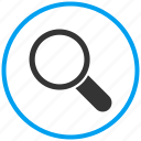 find, magnifier, search, tools, view, zoom icon