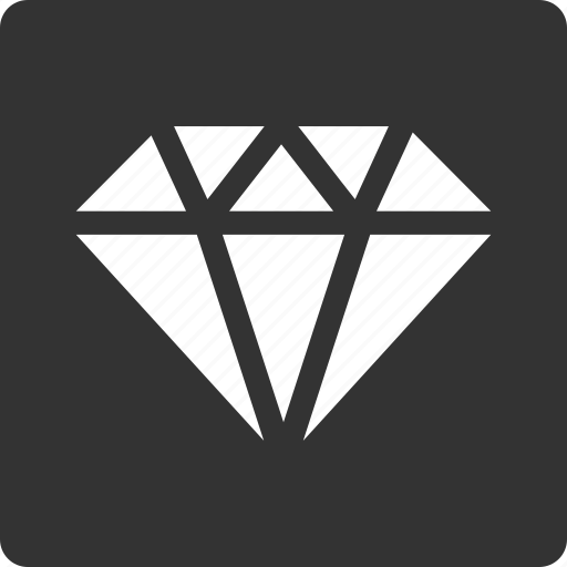 crystal, diamond, gem, gift, jewel, jewelry, stone icon