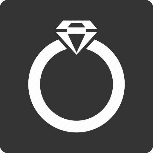 crystal, diamond, jewel, jewelry, present, ring, wedding icon