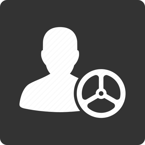 car driver, drive, job, manage, steering wheel, taxi driver, taxi owner icon
