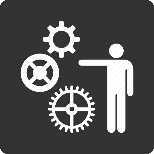 construction, documentation, drawing, engineering, gears, graph, project icon
