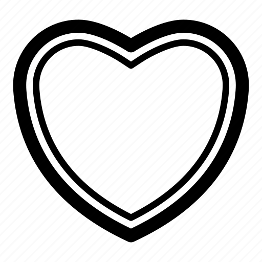 amour, heart, like, love icon