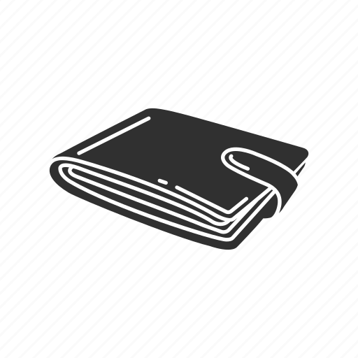 leather wallet, money, purse, wallet icon