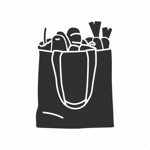 bag, grocery, paper bag, shopping bag icon