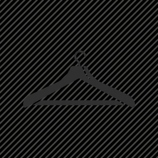 clothes hanger, hang, hanger, wooden hanger icon