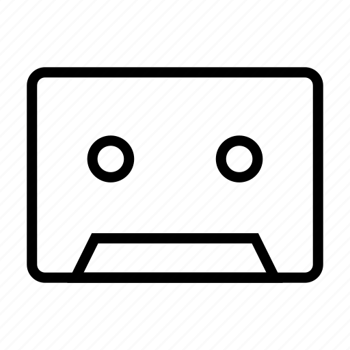 Audio, cassette, media, music, player icon - Download on Iconfinder