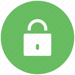 lock, lock sign, padlock, protection, security sign icon