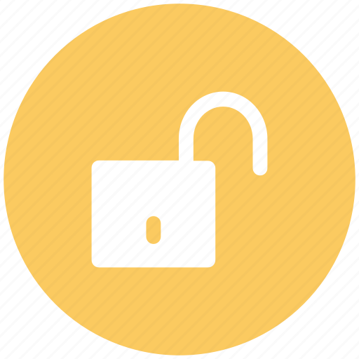Padlock, protection, security sign, unlock, unlock sign icon - Download on Iconfinder