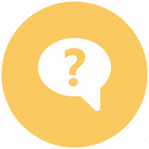 bubble chat, faq question, query, question, question mark, support icon