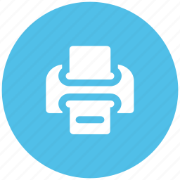 fax, fax machine, machine, print, printer, printing machine icon