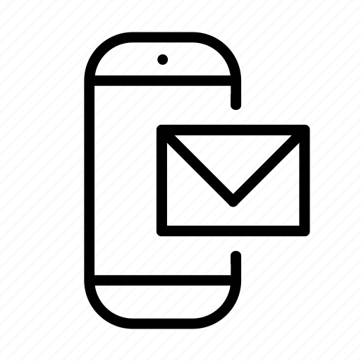 bubble, cell, chat, communication, email, envelope, inbox, letter, mail, message, mobile, network, phone, smartphone, sms, talk, technology, telephone, text message icon