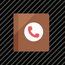 book, contact icon