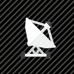 dish, satellite icon