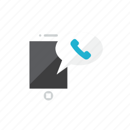call, smartphone icon