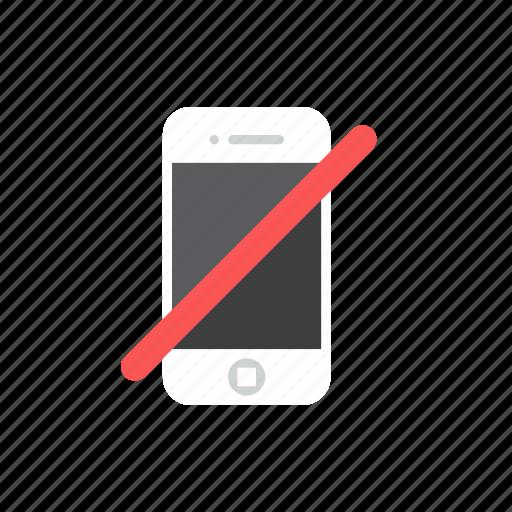 forbiden, smartphone icon