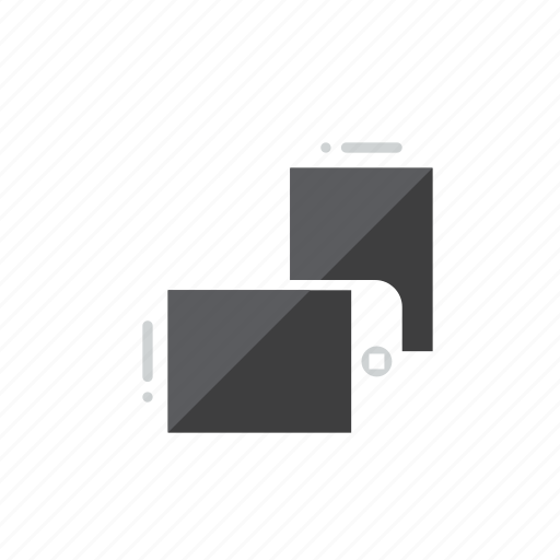 rotate, smartphone icon