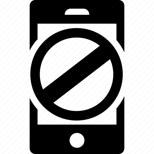 blocked, forbidden, iphone, lock, phone, smartphone, telephone icon