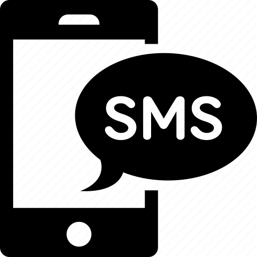 bubble, chat, message, smartphone, sms, text icon