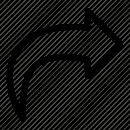 forward, forward email, forward mail, mail icon