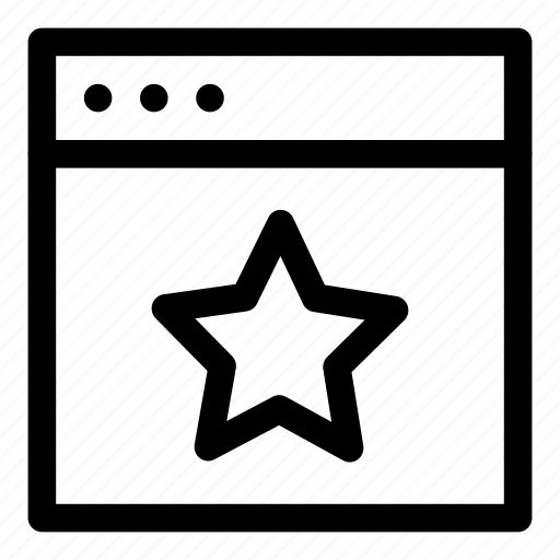 Bookmark, favorite, star, starred icon - Download on Iconfinder